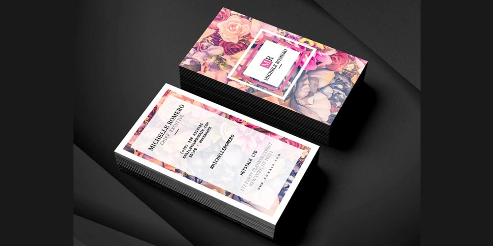 Wedding Planner Business Card PSD