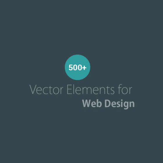 Free Vector Elements for Web Design