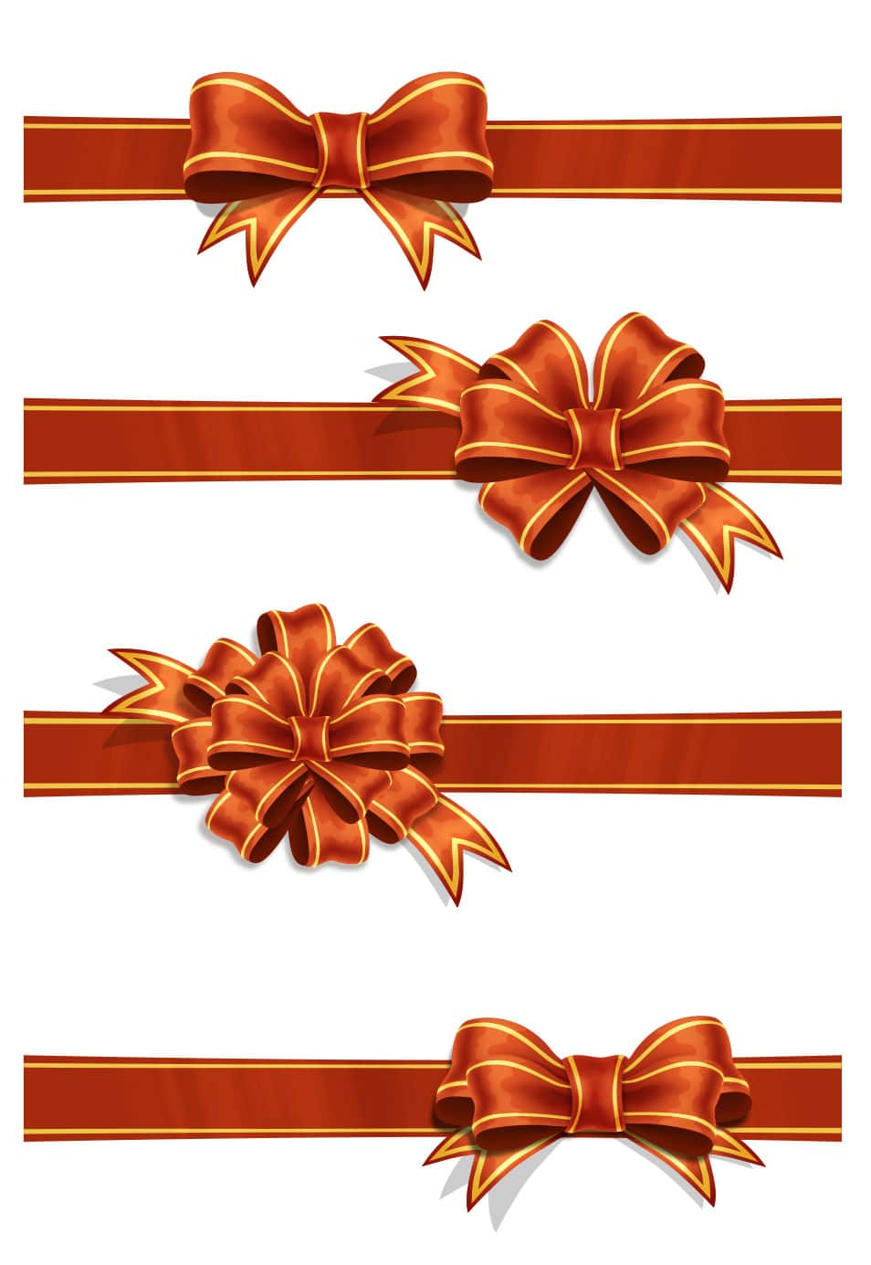 Ribbons Free PSD