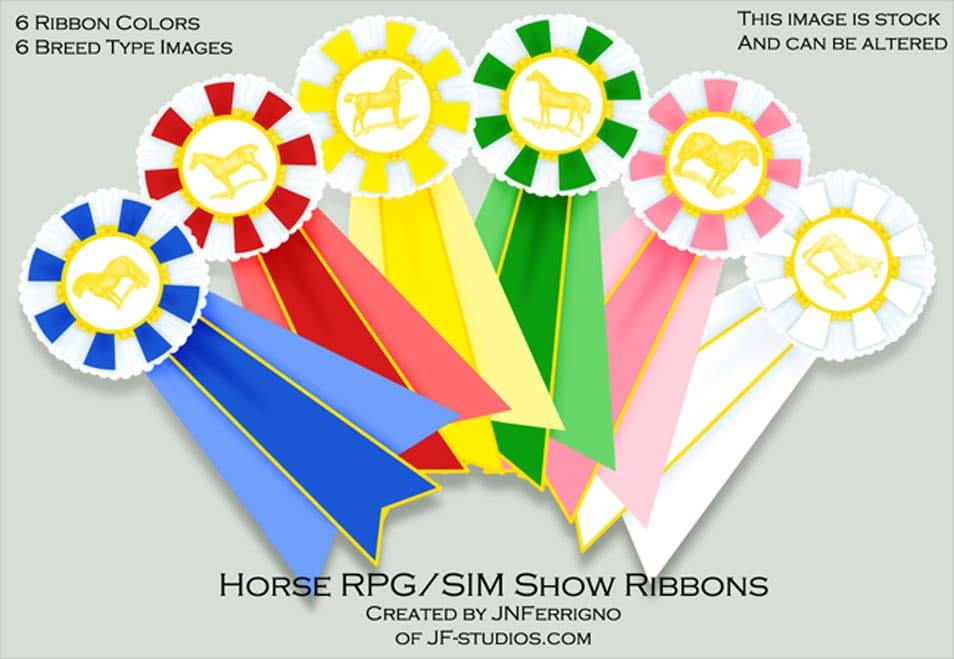 Stock Ribbon Set 2