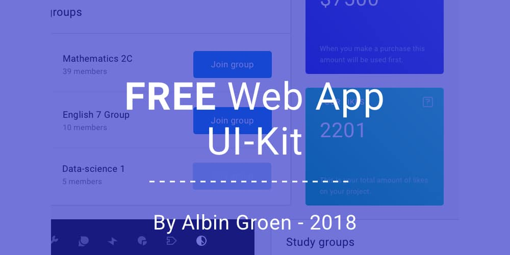 Free Web App UI Kit