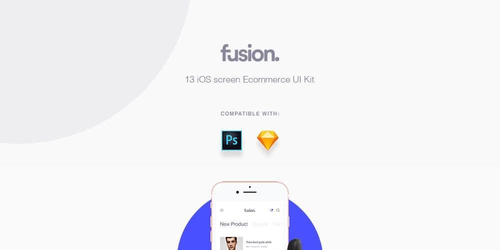 Fusion E-commerce UI Kit