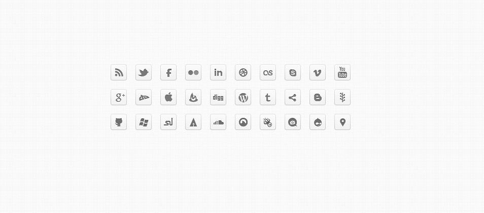 500+ High Quality Free Social Media Icon Sets