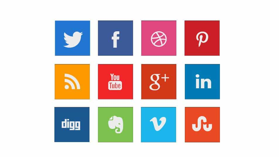 Square Social Icon Pack