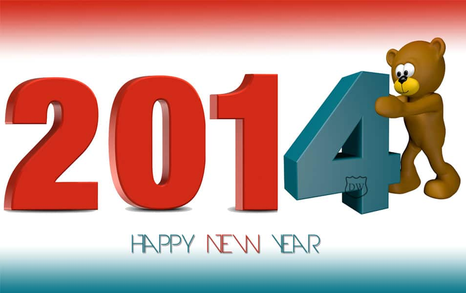 welcome 2014 wallpaper