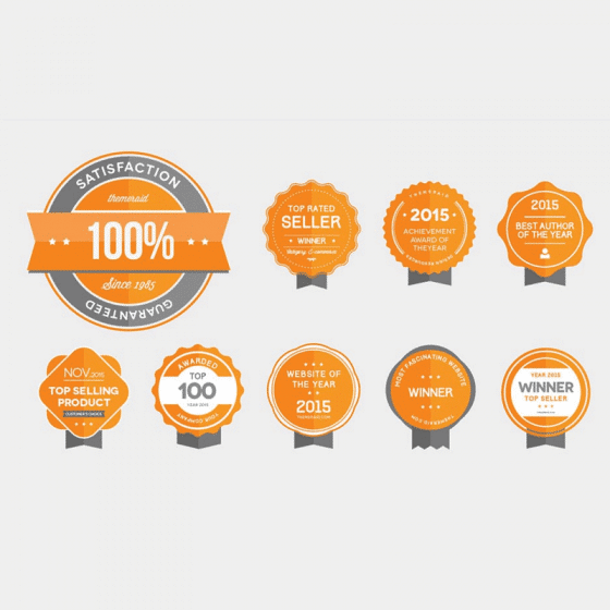 Best Free Badges Vector and PSD
