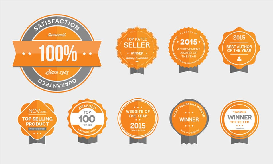 Vector & Psd Award Badges