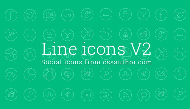 Fabric Exhibition Stand Mockup : Free social media line icon set icons css author