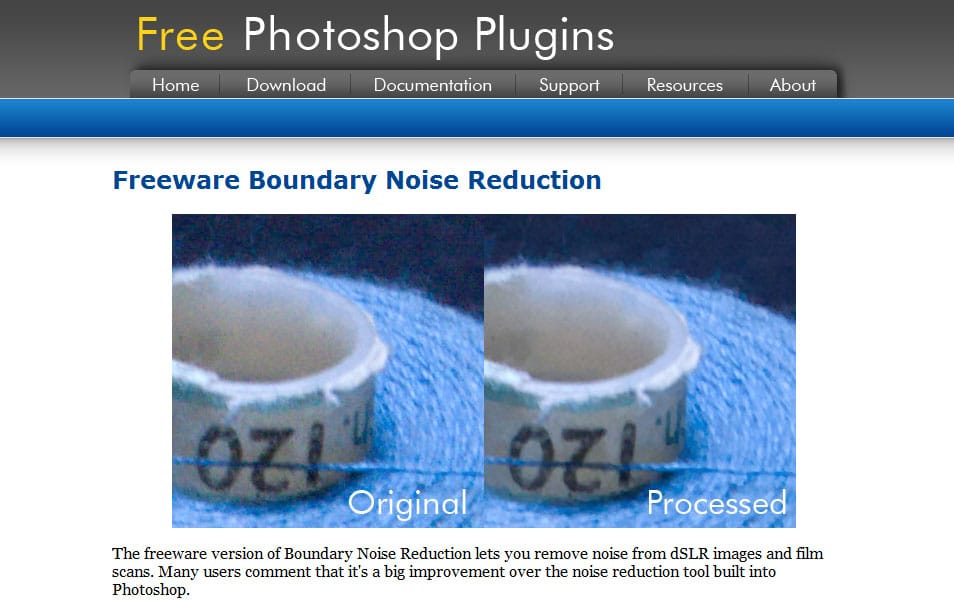 Freeware Boundary Noise Reduction