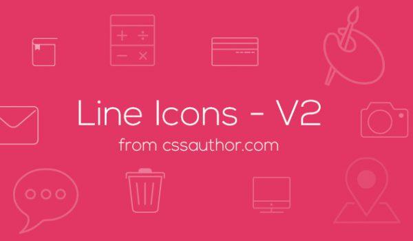 Line Icons - V2