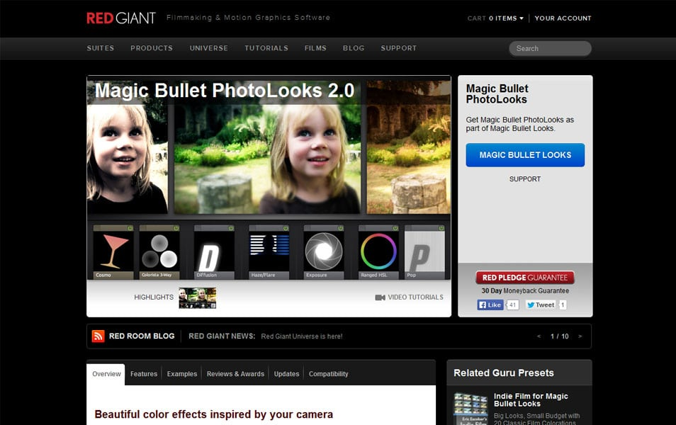 Magic Bullet PhotoLooks 2.0