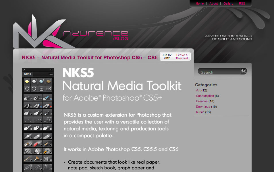 NKS5 – Natural Media Toolkit