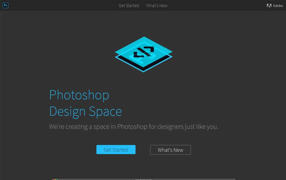 Photoshop Spaces Adapter