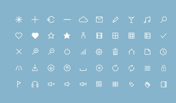 30 + Useful Free Icon Fonts