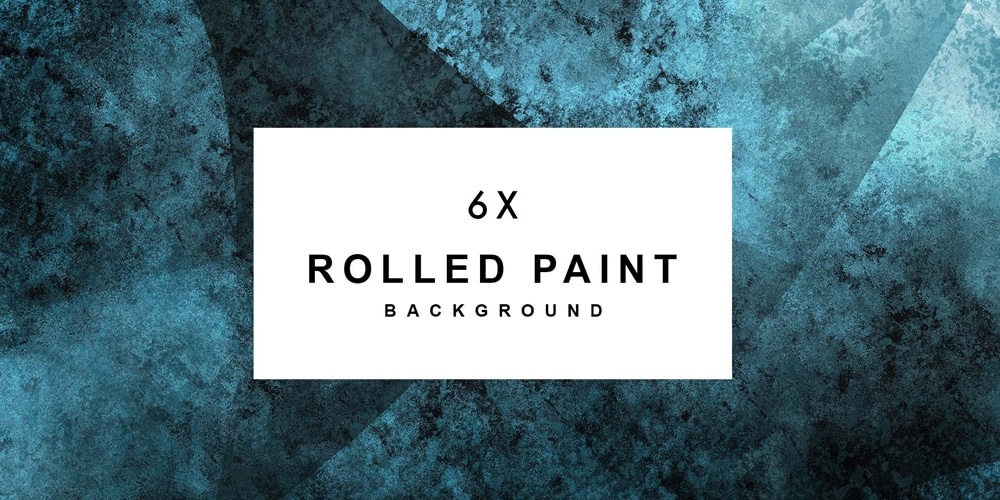 6x Rolled Abstract Paint Background
