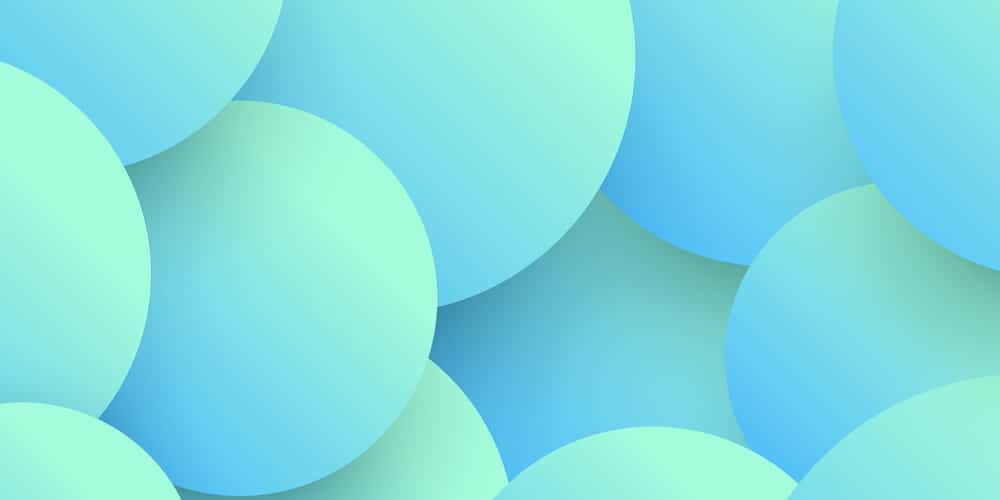 Abstract 3d Circles Background