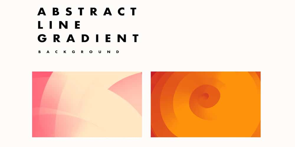 Abstract line Gradient Background