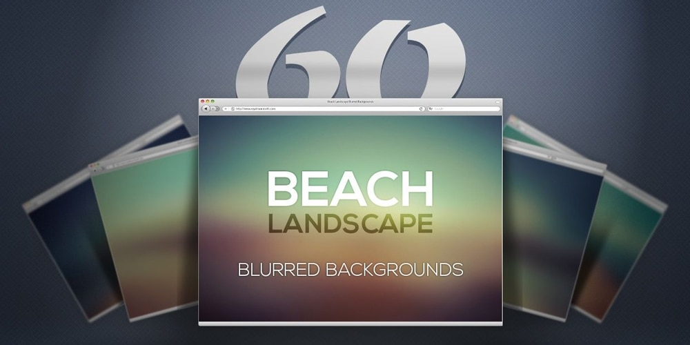 Blurred Beach Backgrounds