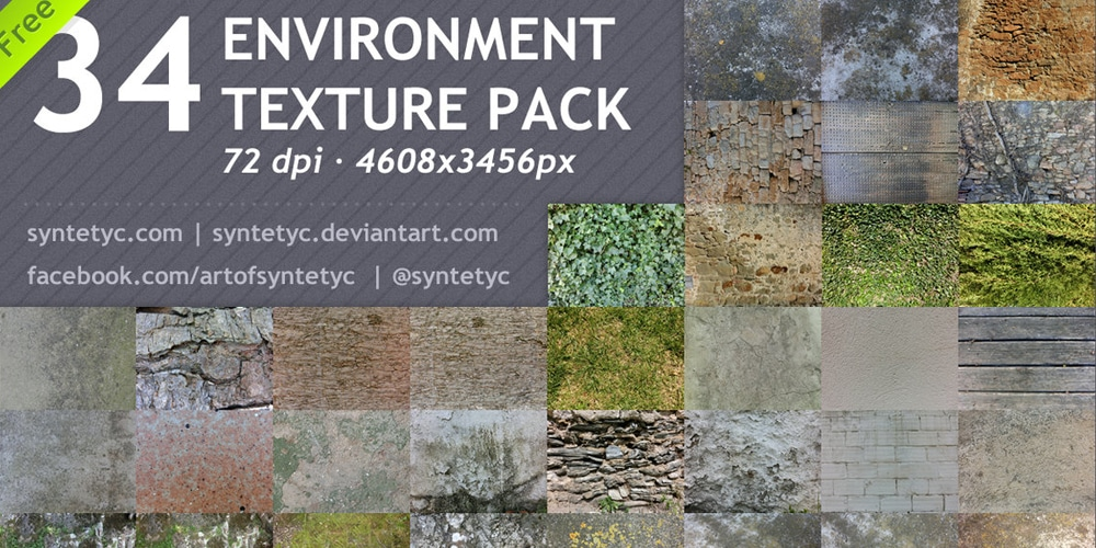 Free 34 Environment Textures