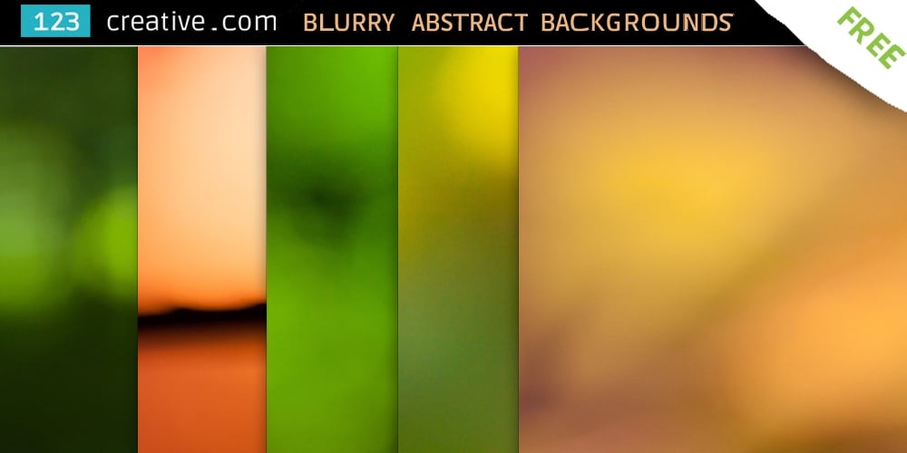 Free Abstract Blurry Backgrounds
