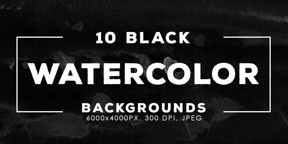 Free Black Watercolor Backgrounds