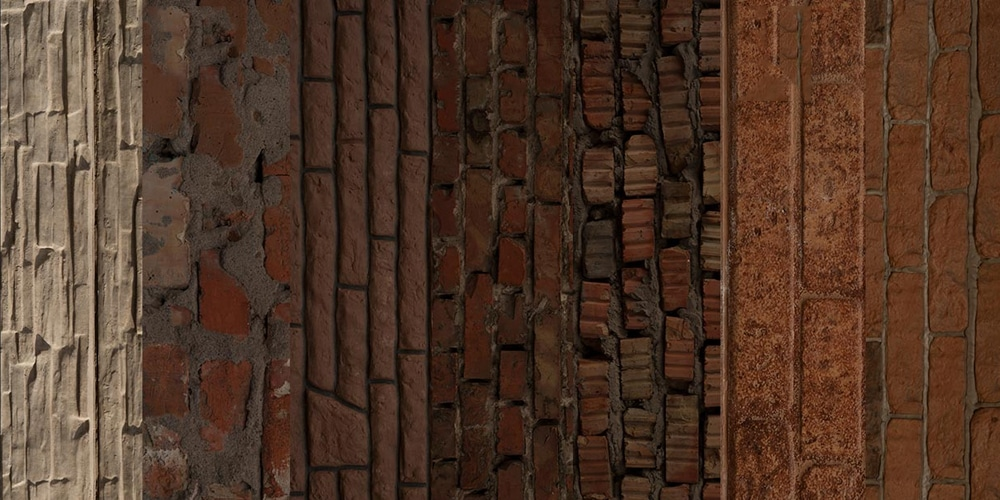 Free Brick HQ Textures and Backgrounds