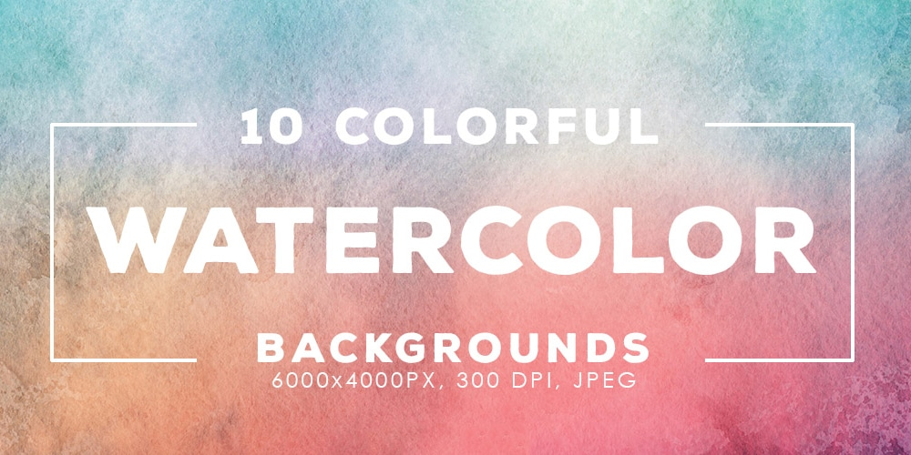 Free Colorful Watercolor Backgrounds