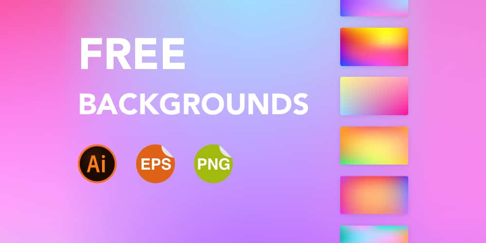 Free Gradient backgrounds