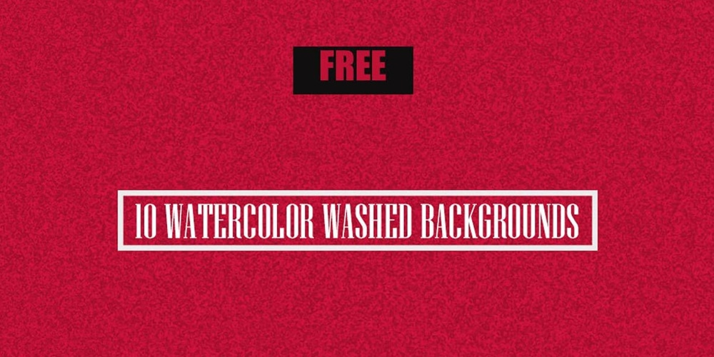 Free Watercolor Washed Backgrounds