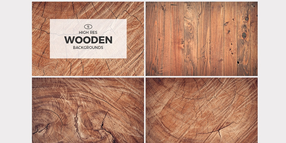 High-Res Wooden Backgrounds