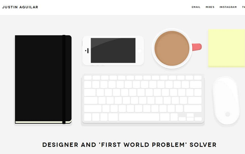 web designs based on desk top view