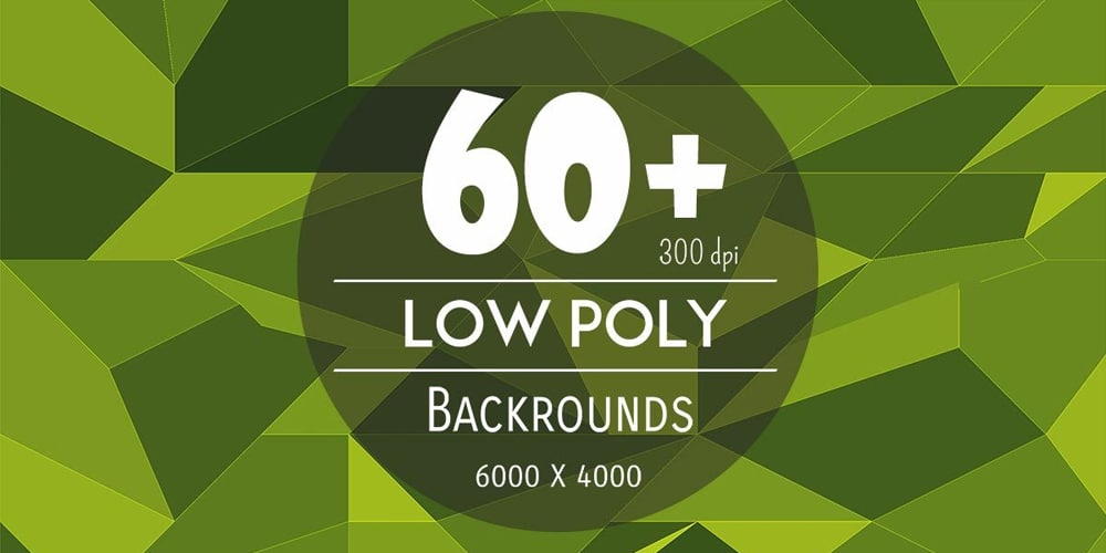 Low Poly Backgrounds
