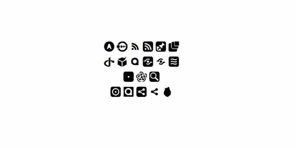 Open Web Icons