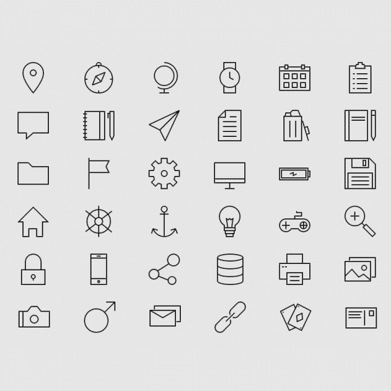 Useful Free Icon Fonts