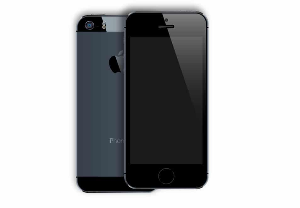 iPhone 5S vector