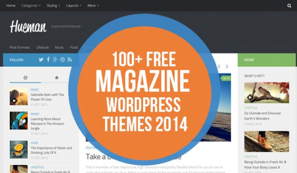 100+ Free Magazine WordPress Themes 2014