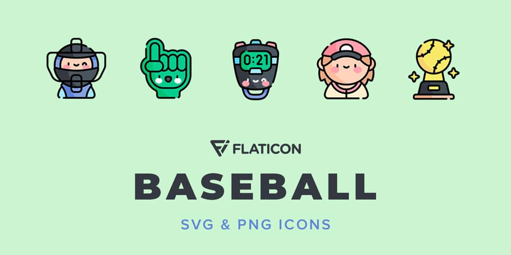 Baseball Vector Icons