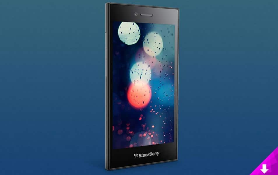 BlackBerry Leap Mockup