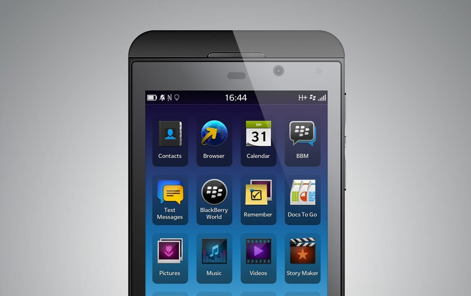 BlackBerry Z10 PSD