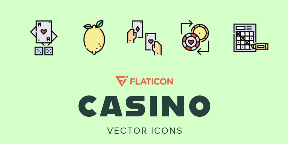 Casino Vector Icons