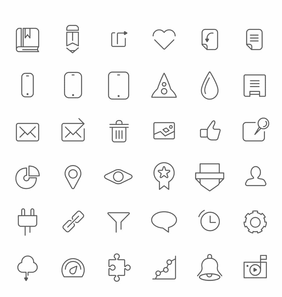 Free Dashboard Icons