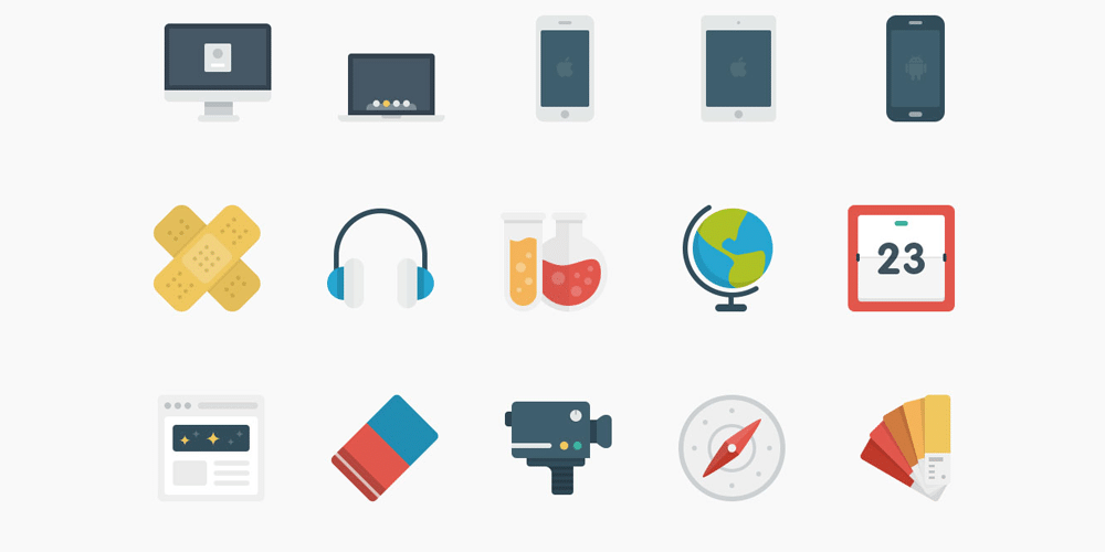 Latest Collection Of Free SVG Icons | CSS Author