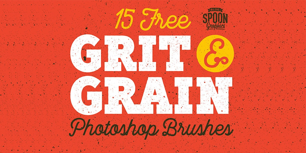 Free Grit & Grain Texture Brushes