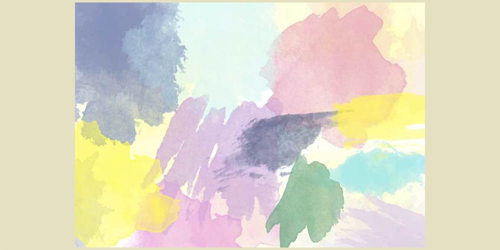 Free Hi Res Watercolor Photoshop Brushes