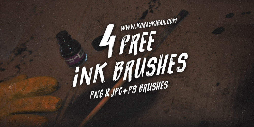 Free Ink Brushes