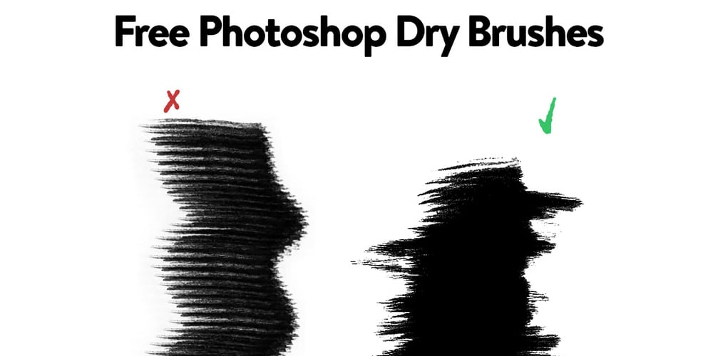 Free Photoshop Dry Brushes