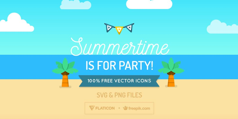 Free Summertime Icons