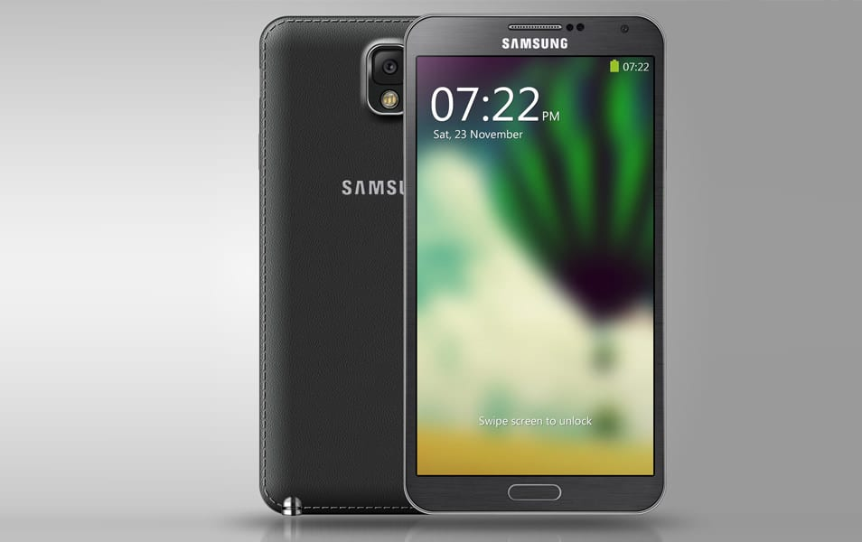 Galaxy Note III PSD