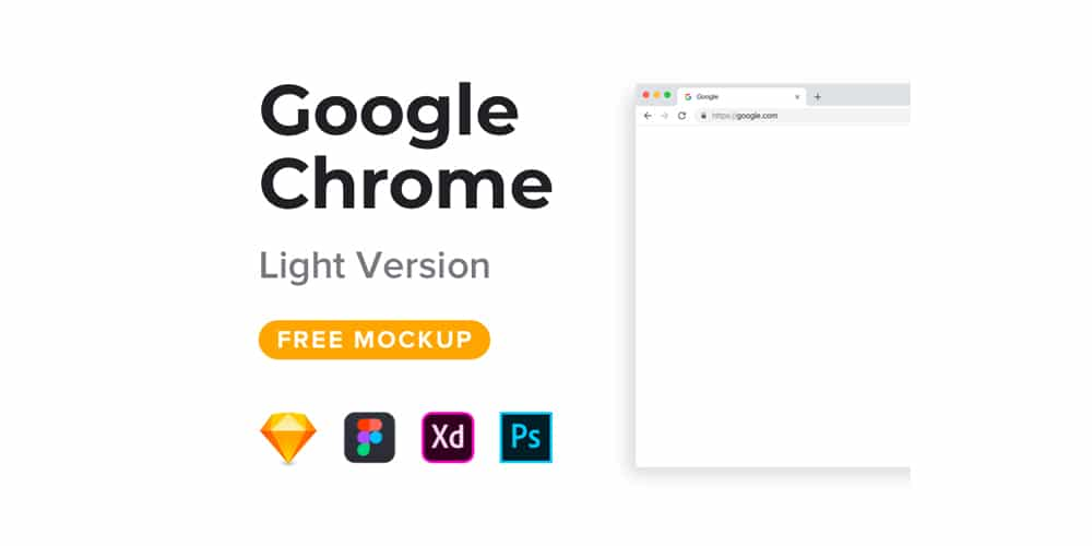 Free Web And Mobile Browser Mockup Designs PSD