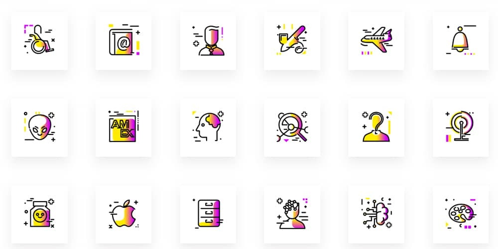 Gradientify SVG Icons